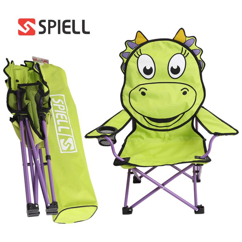 스피엘 안전장치 키즈 애니멀체어 2개세트 캠핑의자, 키즈공룡+키즈공룡