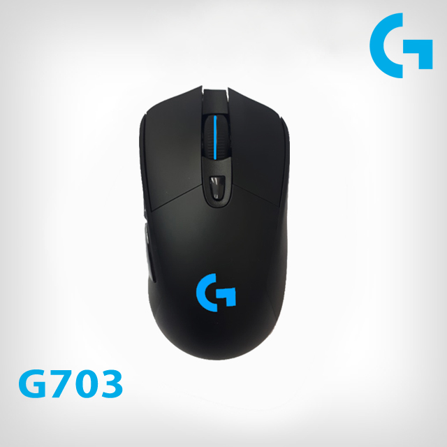 로지텍 G703 HERO LIGHTSPEED 유무선 게이밍마우스 병행수입제품~, 1개, G703 HERO-미개봉새박스