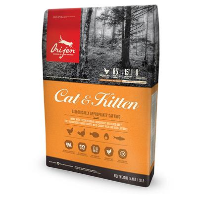 오리젠 캣앤키튼 5.4kg 고양이 사료, 오리젠캣앤키튼고양이사료5.4kg