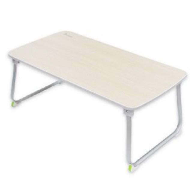 히키스 노트북용 좌식 테이블 베드트레이, 화이트