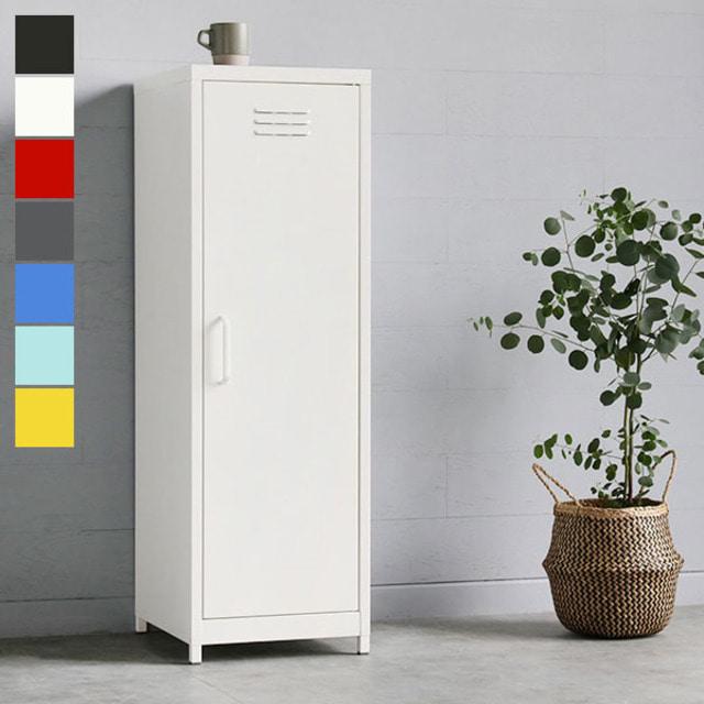 [마켓비] MKB 캐비넷 세로중 1문 수납장 3801200, 02.화이트