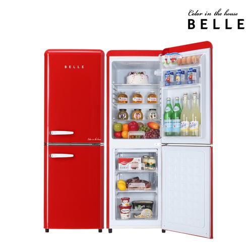 서울전자 belle 레트로냉장고 RC15A 150L 방문설치, RC15ARD(레드) (POP 30498507)