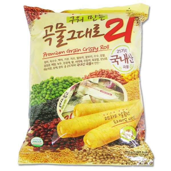 [무료배송] 곡물그대로 21곡 500g, 1Ea