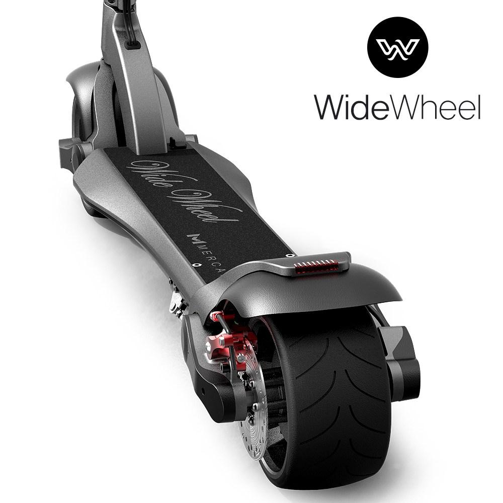 머케인 48V 와이드휠 전동킥보드 듀얼 싱글, 싱글 8.8ah