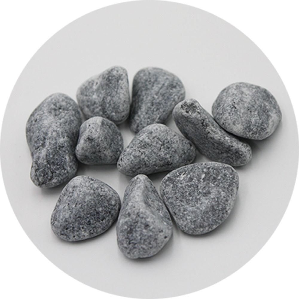 토목코리아 돌자갈 10kg 많은양 백자갈 그레이자갈(흑자갈), 흑자갈
