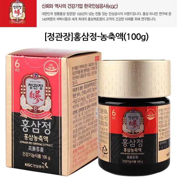 정관장 홍삼정 + 쇼핑백, 100g, 1세트