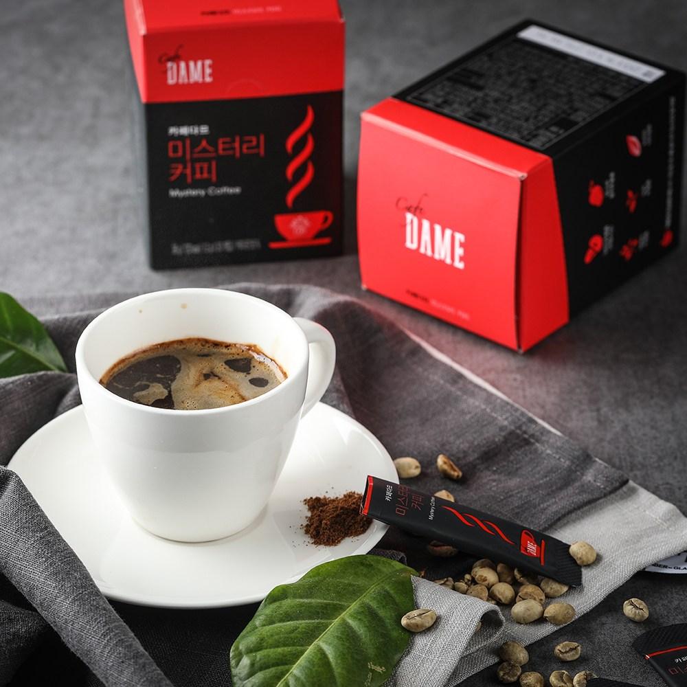 [카페 다므] 순하게 마시는 미스트리 원두 커피 원두커피, 1.2g, 60개