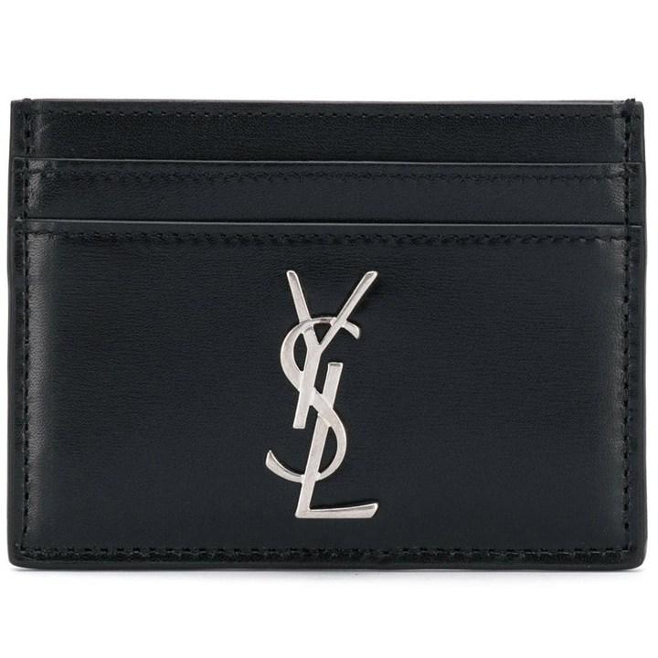 YSL [YSL]신상 모노그램 카드 지갑 블랙485631 0SX0E 1000