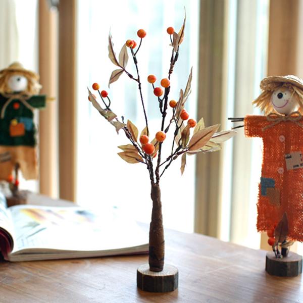 미니감나무모형/가을매장소품/어린이집소품/가을소품