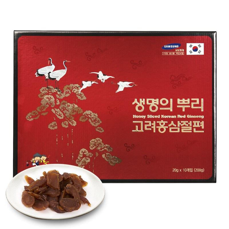 한국고려인삼 고려홍삼절편 200g, 1개