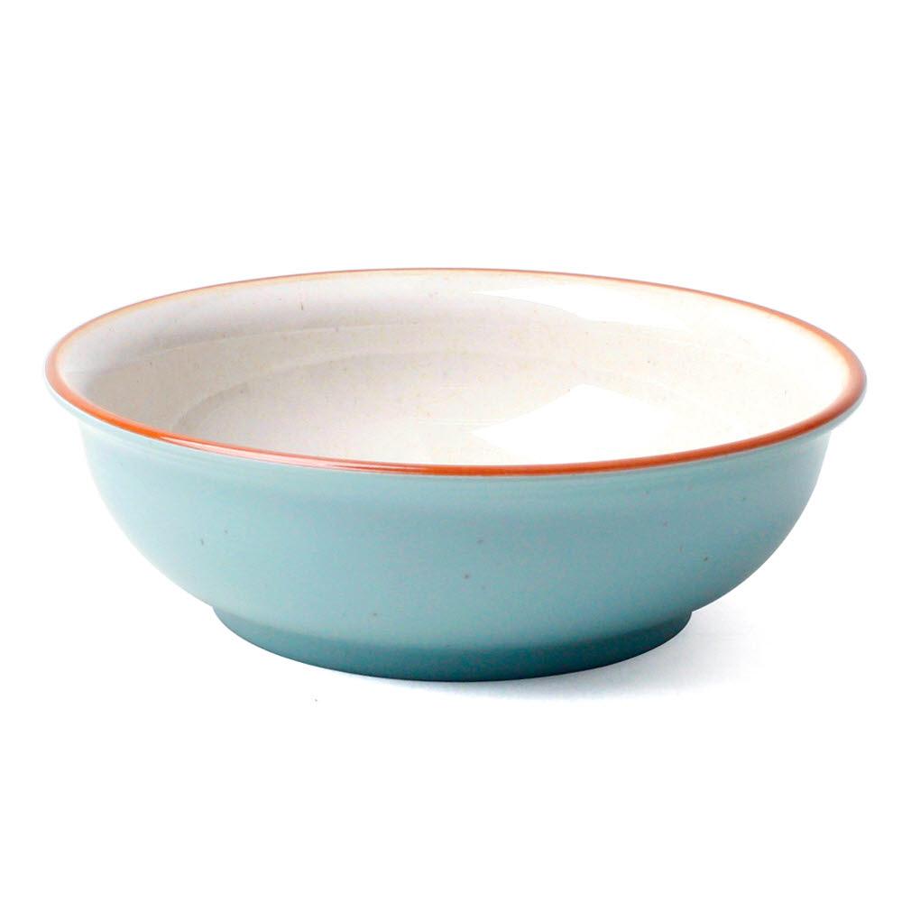 토탈하우스 로얄몬드 멜라민 식기 낱개 멜라민식기 용기 그릇, 원형찬기-중-블루