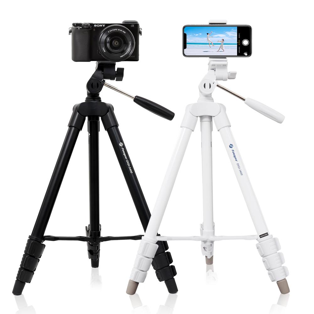 엠킷 카메라 스마트폰 삼각대, 화이트삼각대 / 리모컨세트