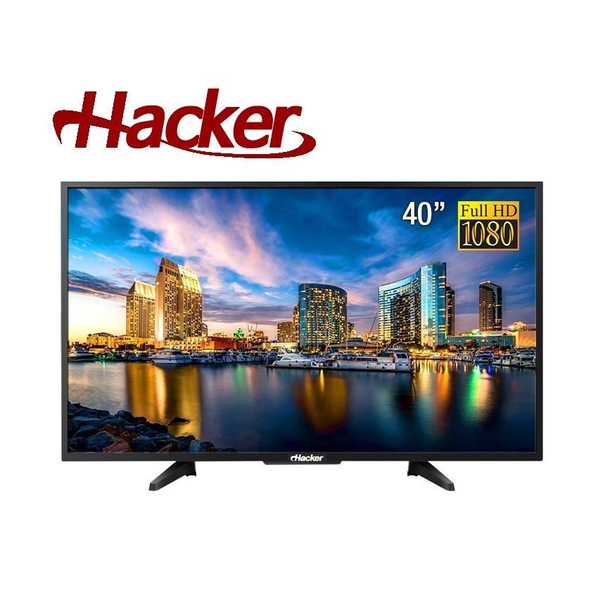해커 FHD TV 40인치 본사직배송 및 벽걸이 (브라켓 포함) 설치, DH 4000 40인치 TV