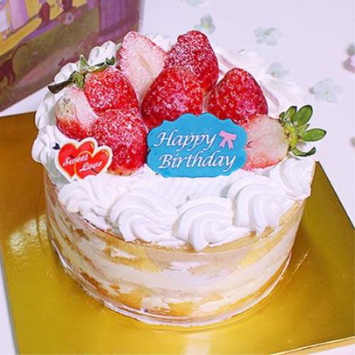 이홈베이커리 바닐라1호 생크림케익 케이크만들기세트, 1개