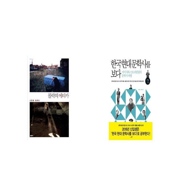 몰락의 에티카 + 한국 현대 문학사를 보다 2 [세트상품]
