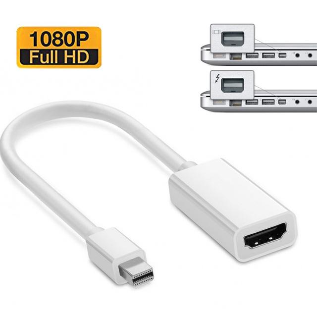 아모란나 미니디스플레이 miniDP to HDMI 17cm - 썬더볼트, miniDPtoHDMI17cm