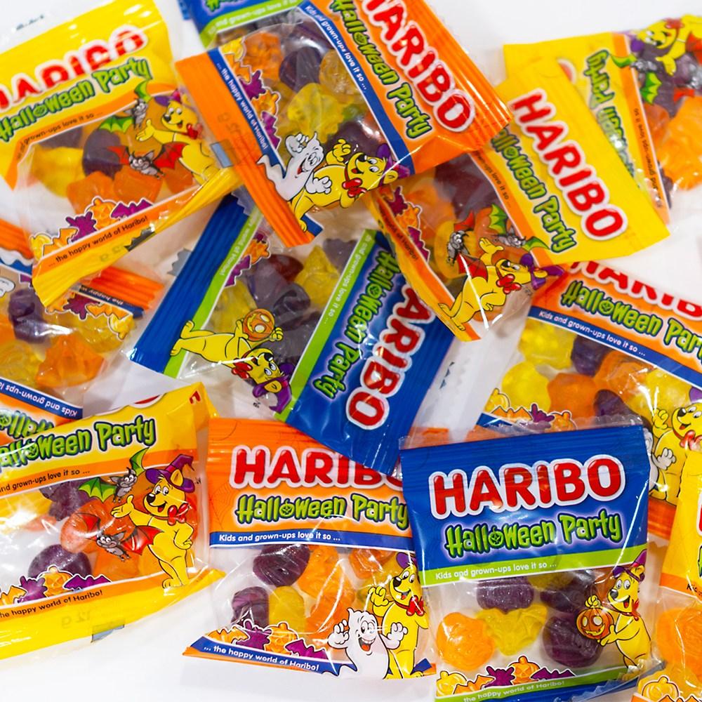 하리보 할로윈 파티 젤리 82봉 구미젤리 호박모양, 980g, 1팩
