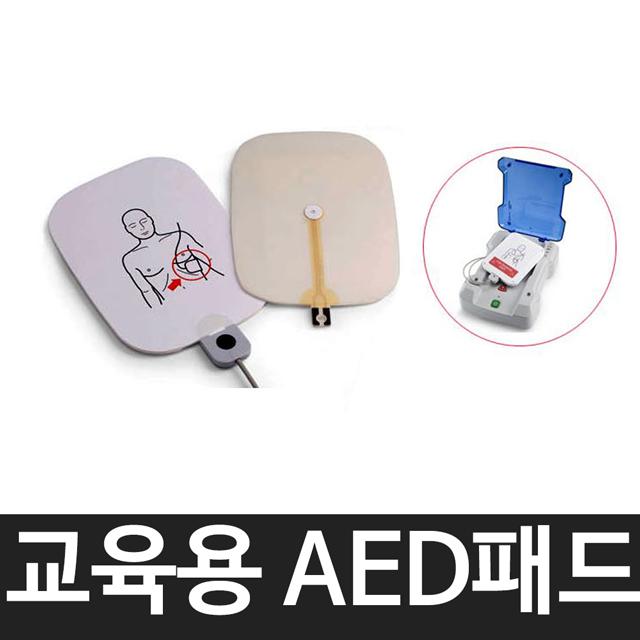 [와이지스] 라디안 교육용 AED패드 성인/어린이공용 사용횟수2000회, P-303T