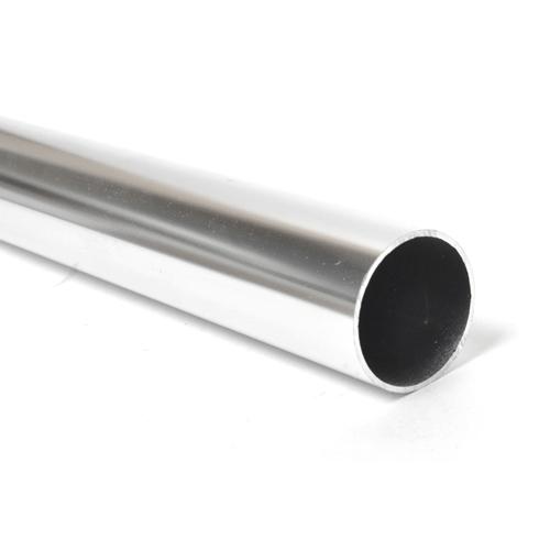 철물바다 알루미늄 파이프 1.0m, 실버, 1개