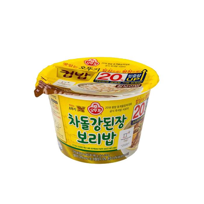 오뚜기 차돌강된장보리밥, 280g, 1개