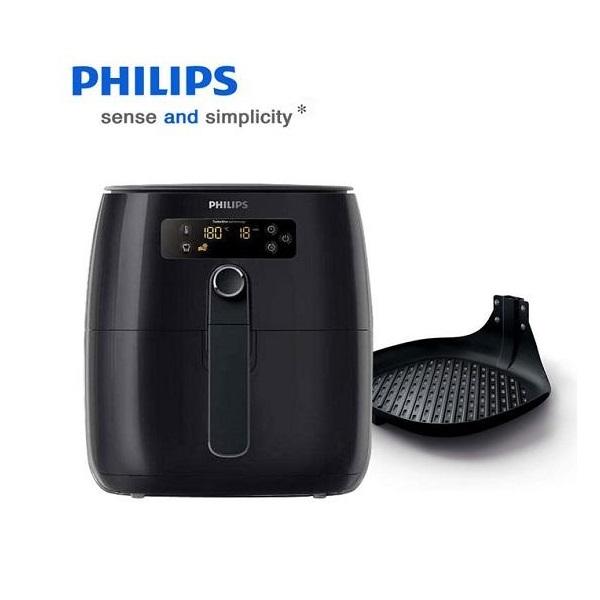 필립스 터보스타 에어 프라이어 디지털 디스플레이 그릴팬 포함, 필립스 터보스타 에어프라이어