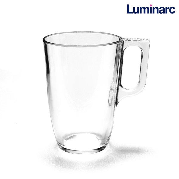 루미낙 누에보 400ml 내열유리 머그컵/커피 찻잔 음료컵, 누에보400ml
