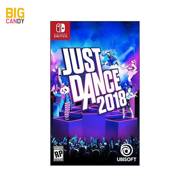 닌텐도스위치 Just Dance 2018 저스트댄스 북미판, JustDance2018 북미판