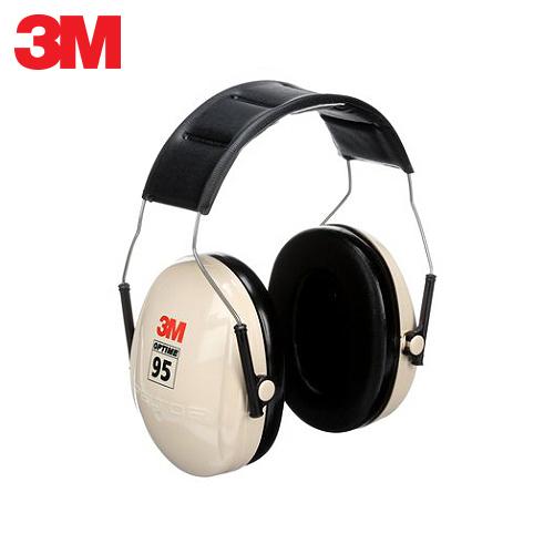 3M 귀덮개 소음차단 청력보호구 귀마개 H6A, 베이지