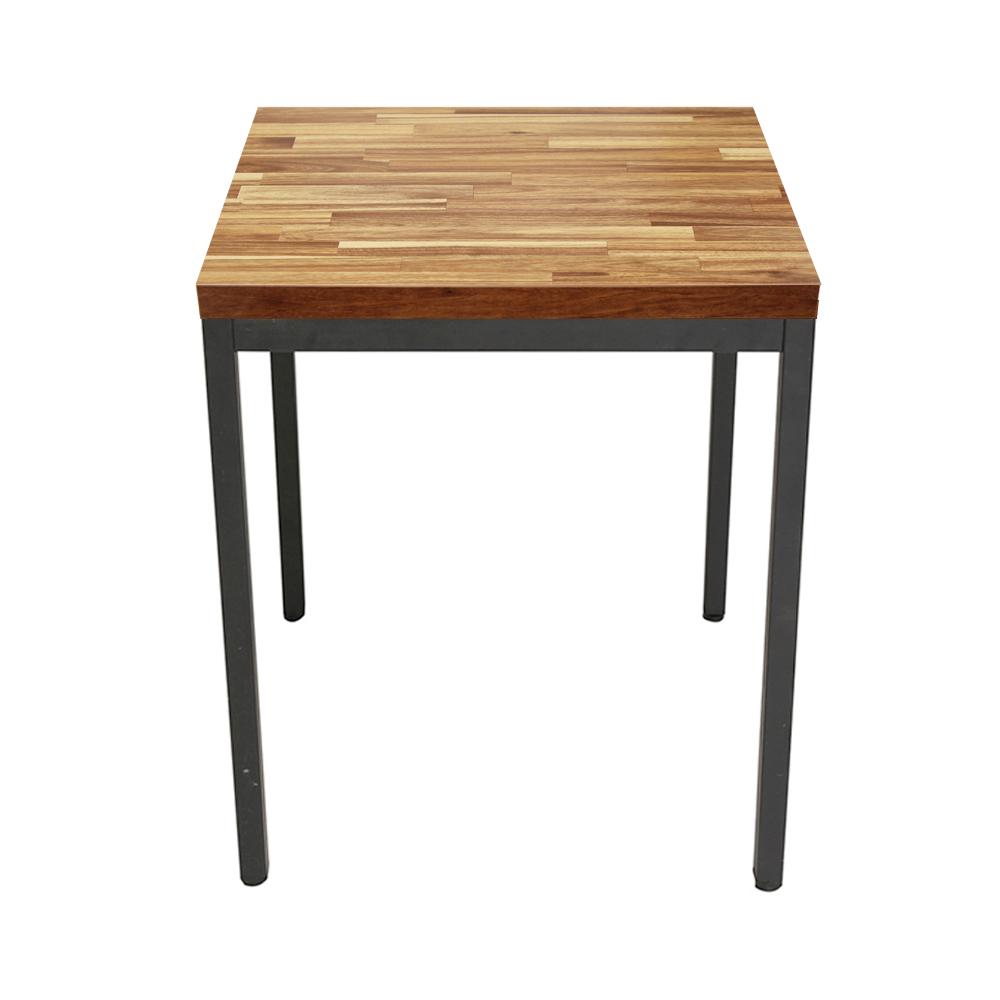 THEJOA 티테이블-LPM-600사각 카페/업소용/식탁/간이/2인, LPM-30각-아카시아집성목