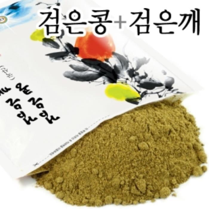 컬러푸드 CFD01344 검은콩검은깨선식 (국산 500g), 1개