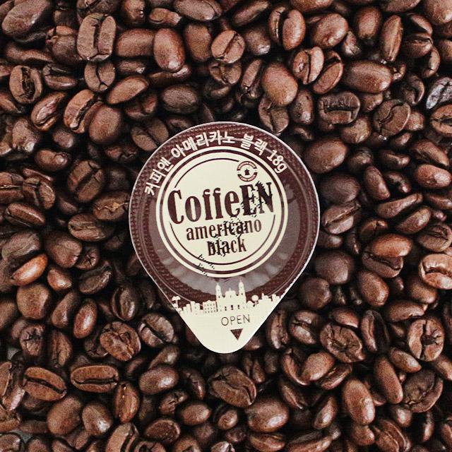 커피앤 액상캡슐커피 아메리카노 50개입(대용량 포션커피), 50개, 18ml-21-2093001569