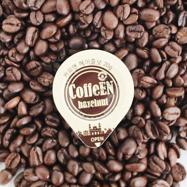 커피앤 액상캡슐커피 헤이즐넛 50개입(대용량 포션커피), 50개, 20ml-30-1409590954