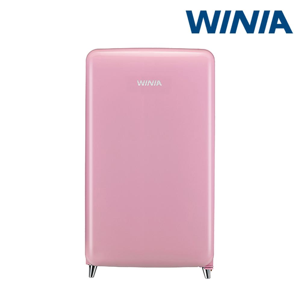 (공식) 위니아 소형냉장고 118리터 칵테일 핑크 ERT118CP