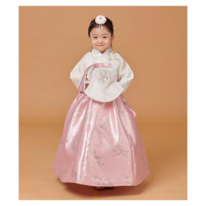 진선미 여자 아동한복 별어린이한복유아한복+복주머니증정