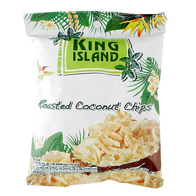 킹아일랜드 구운코코넛칩 50g x27개, 1350g, 1박스