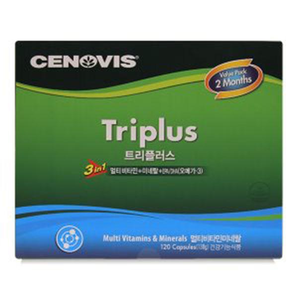 상세페이지참조 세노비스 Triplus 트리플러스 120캡슐, 단품