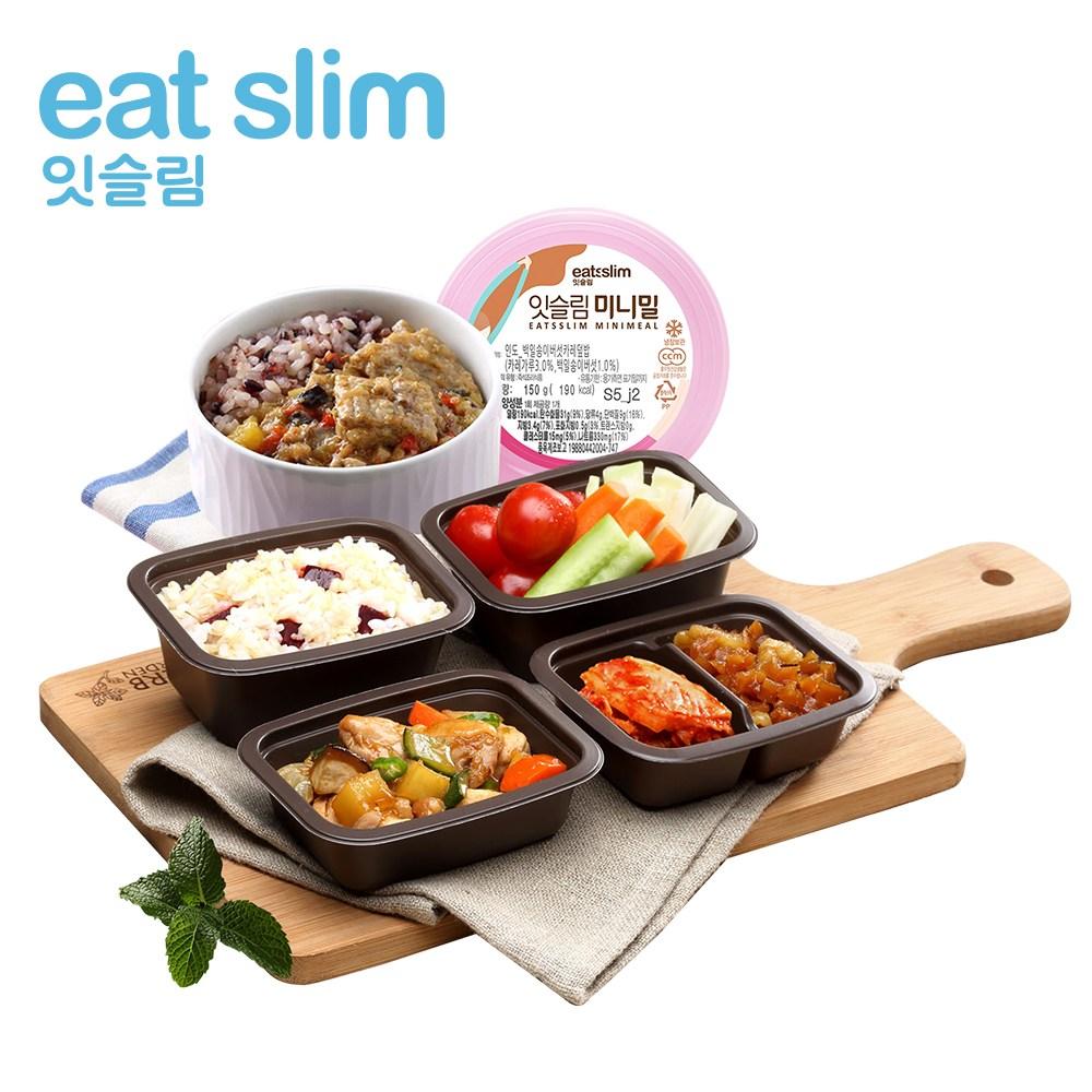 잇슬림 풀무원 400슬림식+미니밀 1식+간편식1주5일, 단품