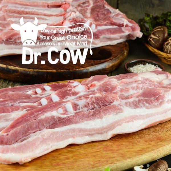 [닥터카우] 수입산 돼지고기 오스트리아산 삼겹살 1kg (500gx2), 1개, 삼겹살 (수육용)1kg (500gx2)
