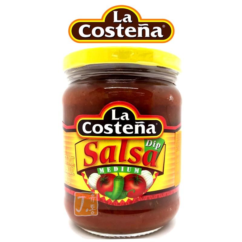 [라코스테냐] 살사소스, 453g, 1개(중간매운맛)