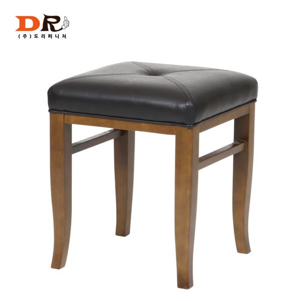 도리퍼니처 센스 원목 보조 의자 / 스툴 다용도 화장대의자, 우드