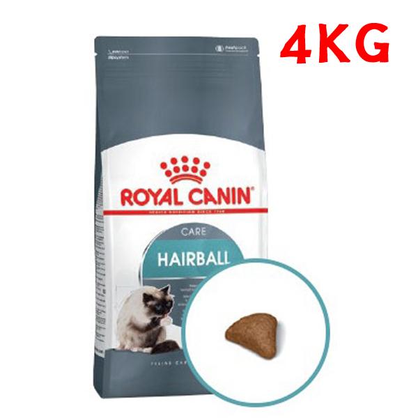 로얄캐닌 캣 헤어볼 4kg 기능성사료 고양이사료 건식