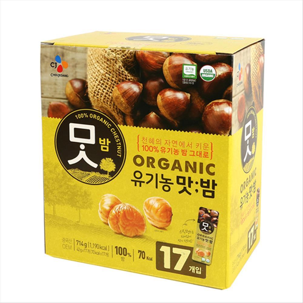 코스트코 CJ 유기농 맛밤 714g(42GX17팩), 1개