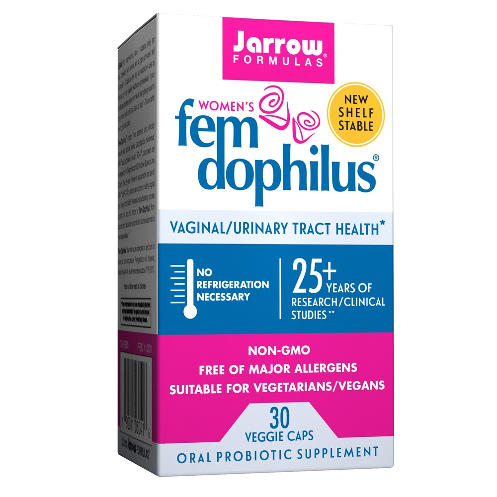 자로우 여성 펨 도피러스 10억 30캡슐 상온보관용 Fem Dophilus, 1개