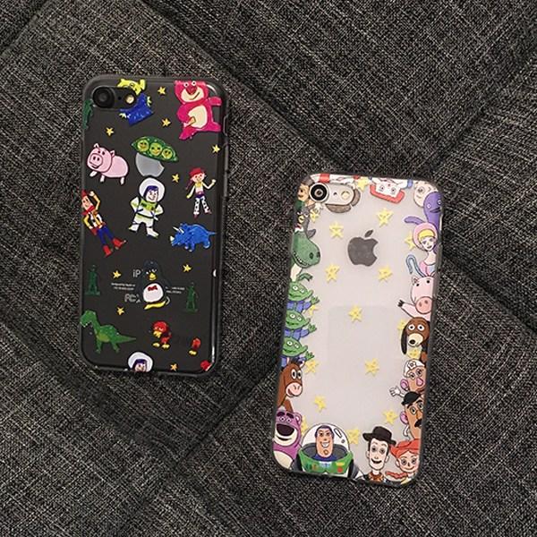 토이스토리 아이폰 캐릭터 젤리 케이스 휴대폰