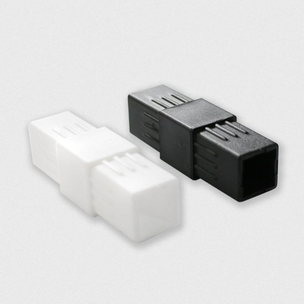 엠파이어 사각파이프조인트 플라스틱조인트 브라켓 연결소켓 거치대 커넥트, 1개