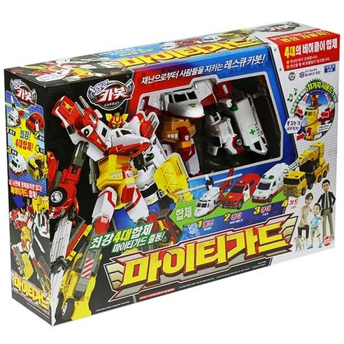 헬로카봇 마이티가드 로봇장난감, 혼합 색상