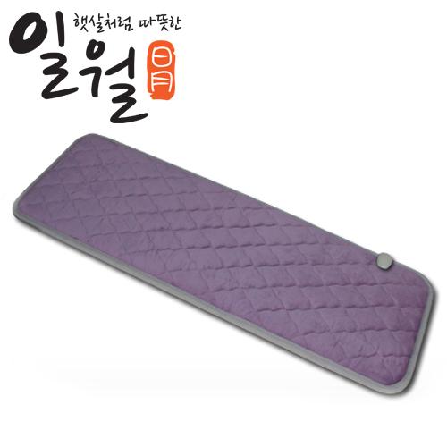 일월 뉴 극세사 전기방석 3인용, 퍼플, 일월 극세사 전기방석 3인용