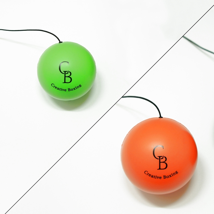 TAP볼 by Creativeboxing (탭볼), 복서용[Green]+초보자용[Orange]