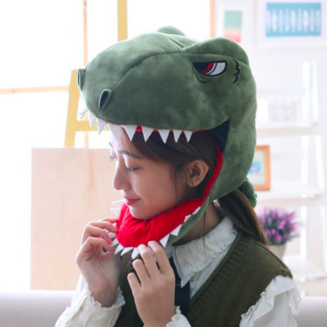 공룡기 공룡 모자 유니버셜 스튜디오 할로윈