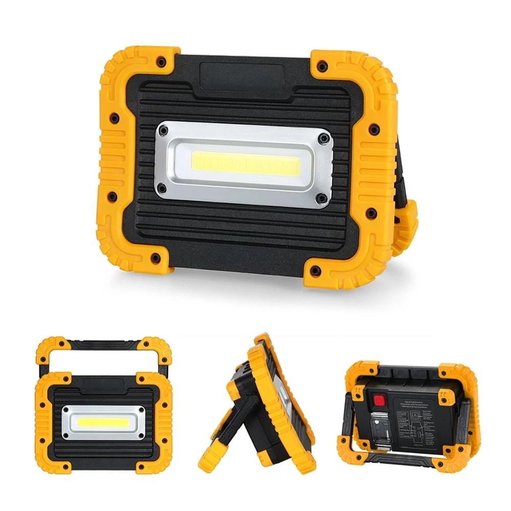 더밝고더많은기능 LED COB 충전식 작업등 투광기 랜턴 JK750 LED랜턴, 랜덤, 1개
